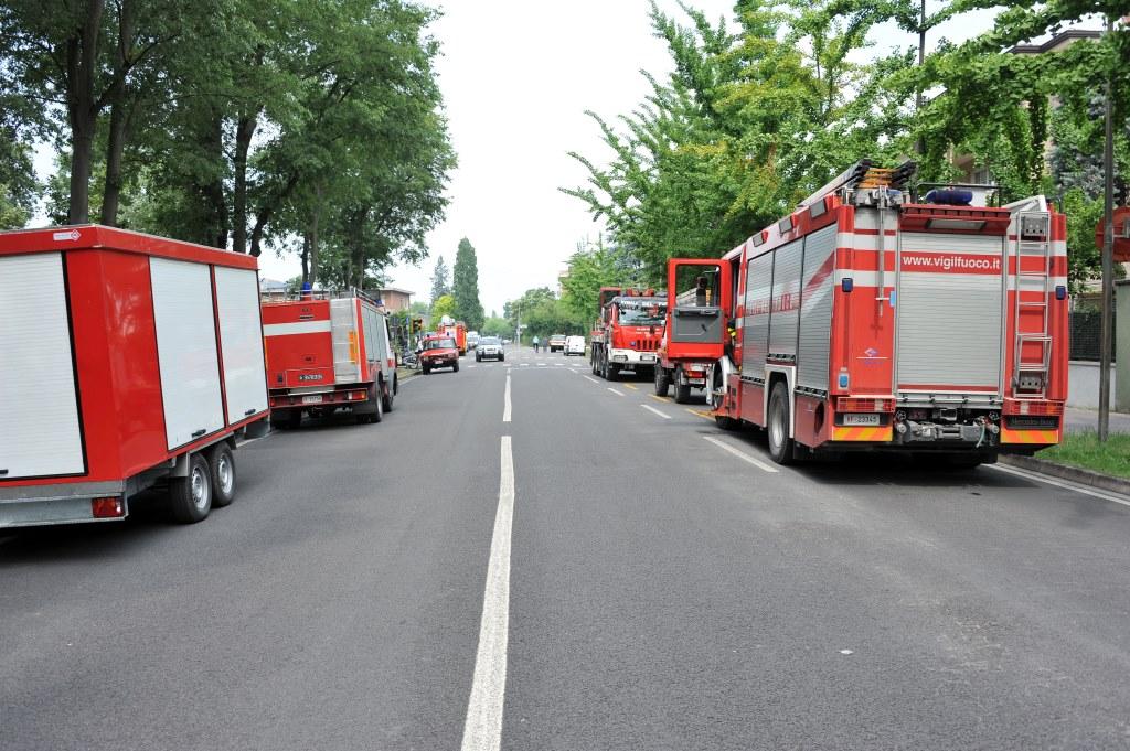 Colonna soccorsi - Terremoto 2012