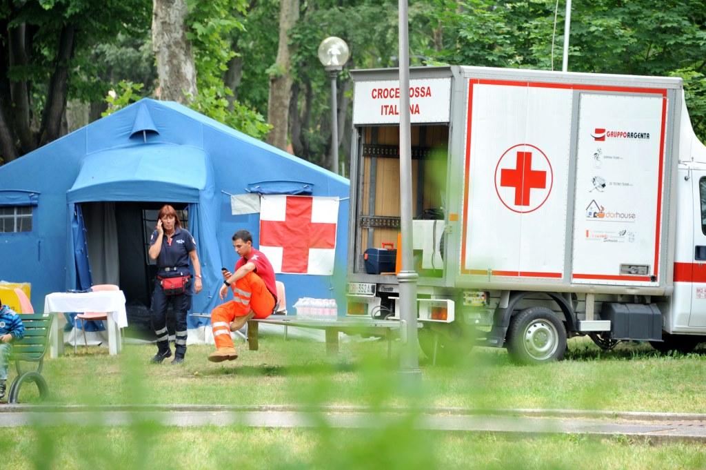 Punto assistenza Croce Rossa