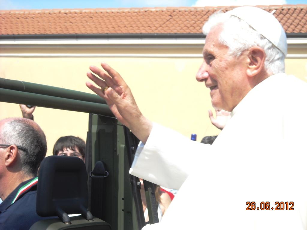 Visita Papa Benedetto XVI