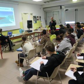 Medie Fassi: un momento della lezione teorica